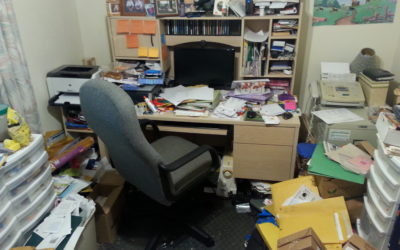 Home office organizing – It's time for a FRESH start