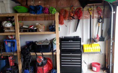 Christmas surprise! – Garage organizing project