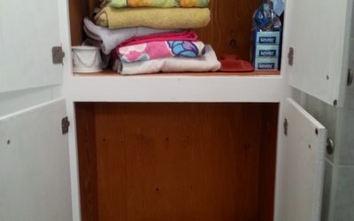 From Frustration to Joy – Making a bathroom closet functional
