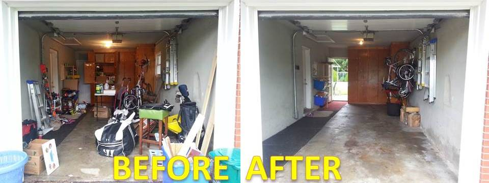 Declutter and organize your garage kw professional - Declutter before and after ...