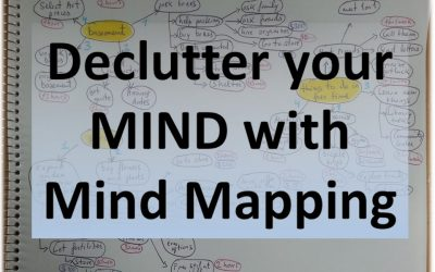 Declutter Your Mind Doing This Mind Mapping Exercise.
