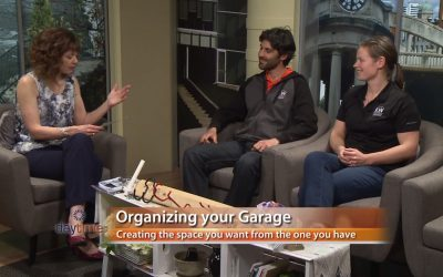 Declutter and Organize Your Garage.