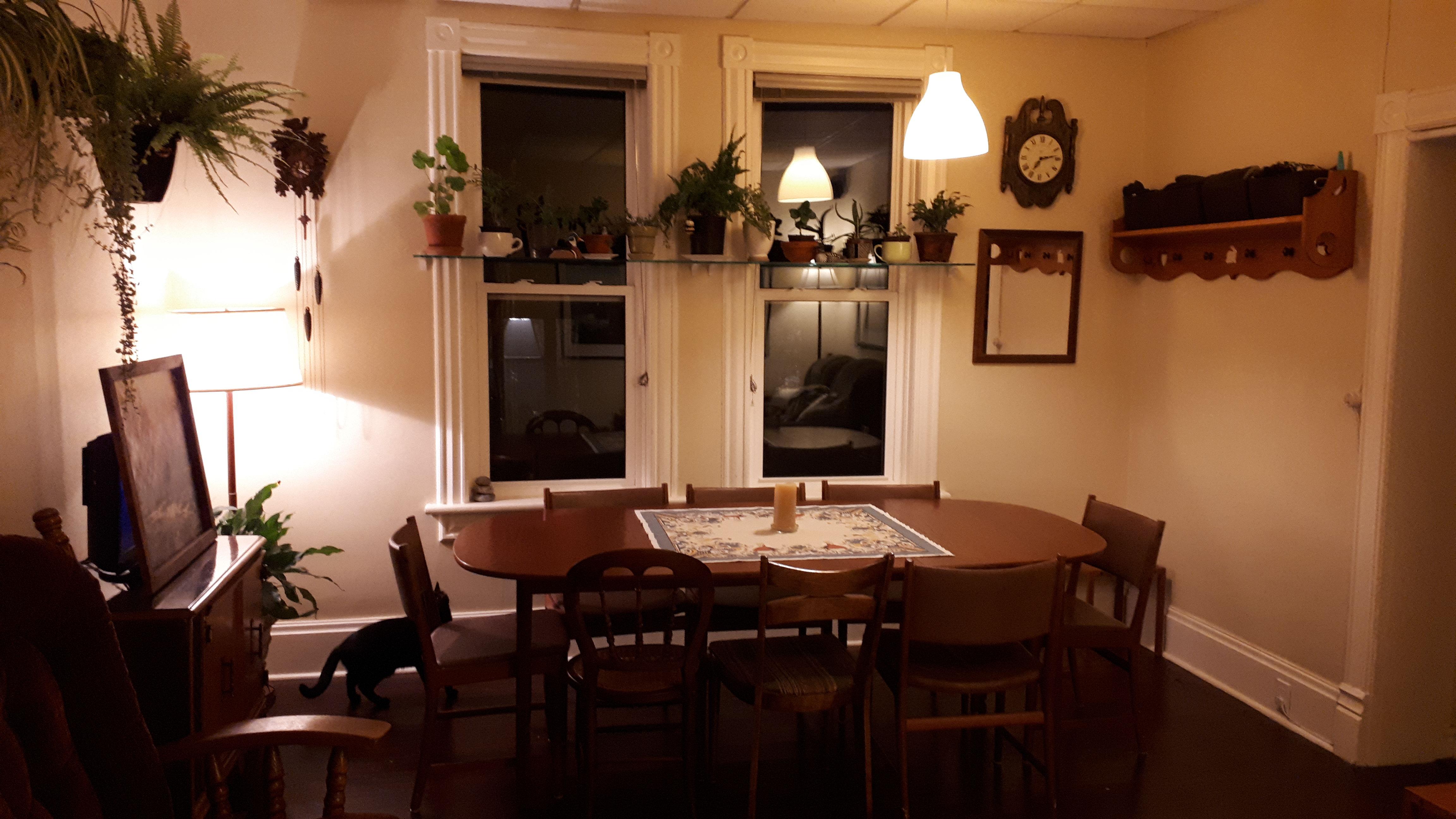 Living Room At Night   KW Professional Organizers   Wabi Sabi