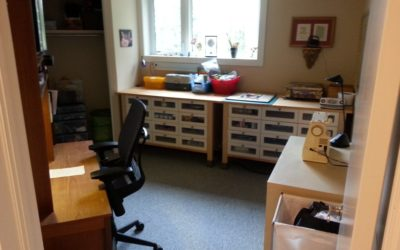 "The ""Room of Doom"" – Art Studio Decluttering Project"