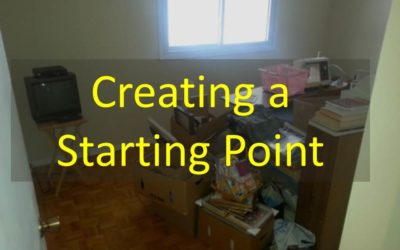Creating a Starting Point.