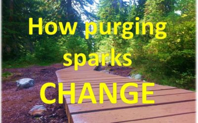 How purging sparks change